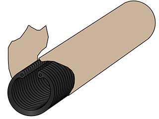 Min Qty 100, M40 PH Int Housing Pack of 100 Retaining Ring